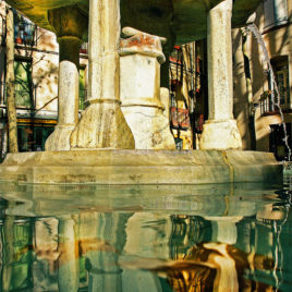 Carles Prat • Ceret, fontaine 9 jets II