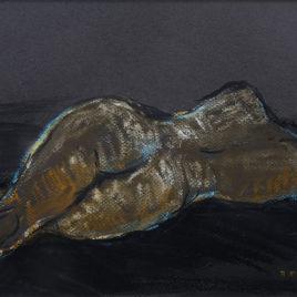Michel Martel • Nue dans l'atelier II