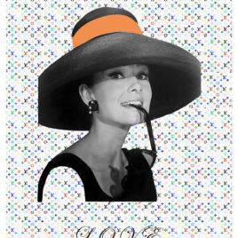Claude Cruz • A.Hepburn & L.Vuitton