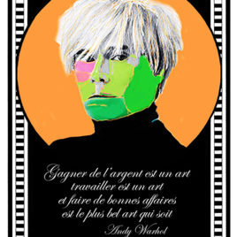 Claude Cruz • Andy Warhol