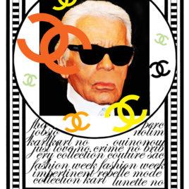 Claude Cruz • Karl Lagerfeld