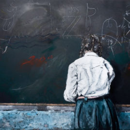 Claret Serrahima • Blackboard IX