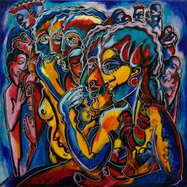 Pierre Bergé dit Pedro • L'azteque bleue