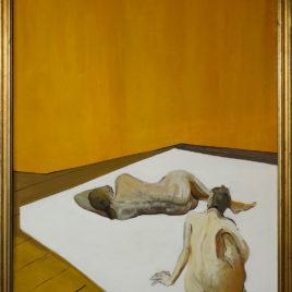 Michel Martel • Nues allongées dans mon atelier II